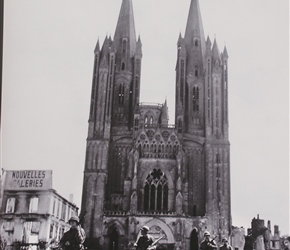 70th Anniversary, so this was Coutances in 1944