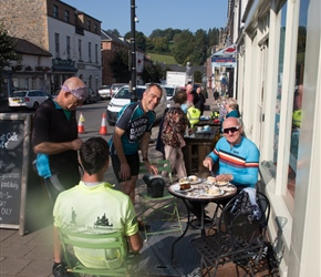 Great Oak cafe at Llanidloes