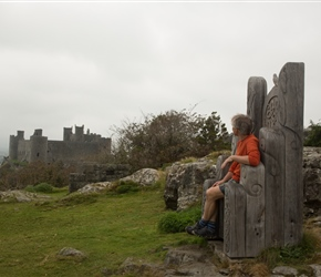Harlech Castle was completed from ground to battlements in just seven years under the guidance of gifted architect Master James of St George. Its classic 'walls within walls' design makes the most of daunting natural defences.